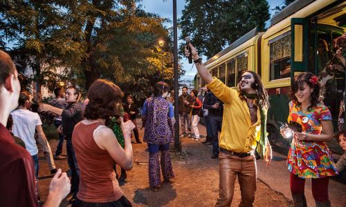 Party | Rome Tram Tracks